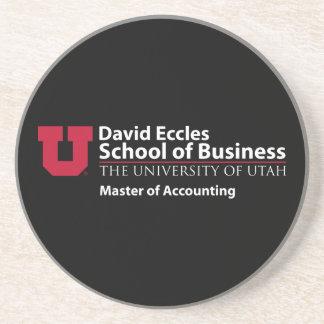 David Eccles - amo de la contabilidad Posavasos Diseño