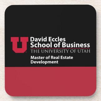 David Eccles - amo del desarrollo inmobiliario Posavasos