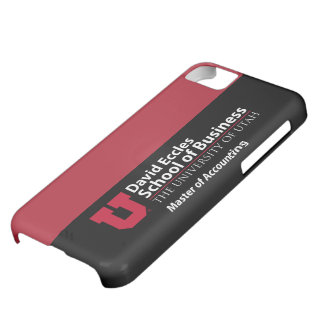 David Eccles - Master of Accounting Case For iPhone 5C