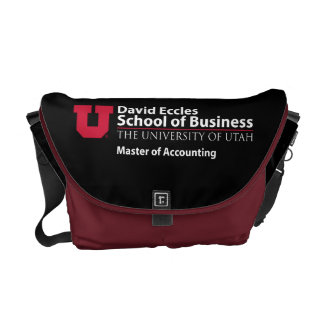David Eccles - Master of Accounting Courier Bag