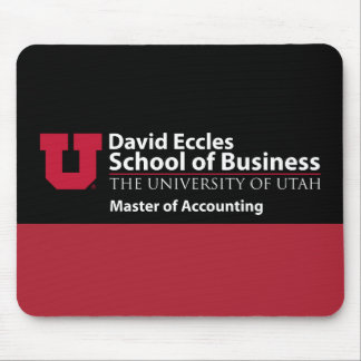 David Eccles - Master of Accounting Mouse Pad