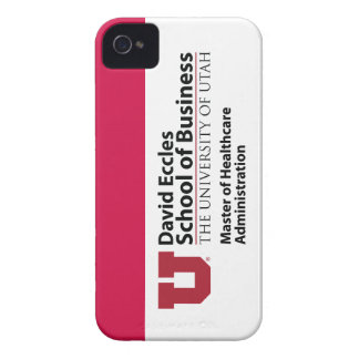 David Eccles - Master of Healthcare Administration Case-Mate iPhone 4 Case
