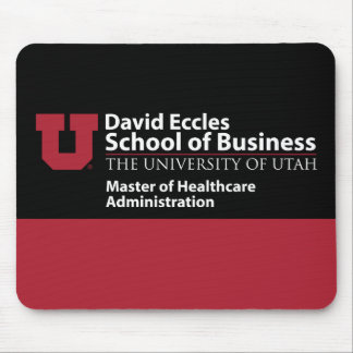 David Eccles - Master of Healthcare Administration Mouse Pad