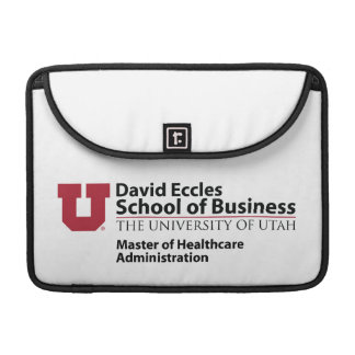 David Eccles - Master of Healthcare Administration Sleeves For MacBook Pro