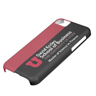 David Eccles - Master of Science in Finance Case For iPhone 5C