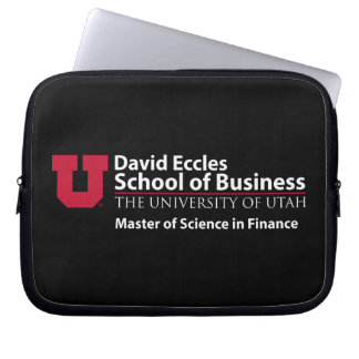 David Eccles - Master of Science in Finance Computer Sleeves