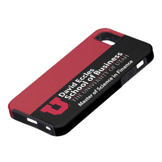David Eccles - Master of Science in Finance iPhone 5 Cases