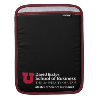 David Eccles - Master of Science in Finance Sleeves For iPads
