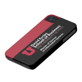 David Eccles School of Business - MSIS iPhone 4 Case-Mate Case