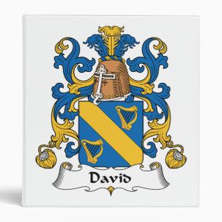 David Family Crest Binder