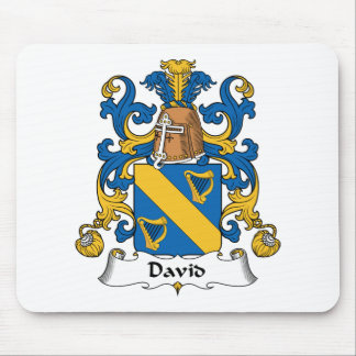 David Family Crest Mouse Pad