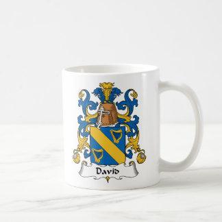 David Family Crest Mug