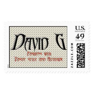 David G Logo Postage