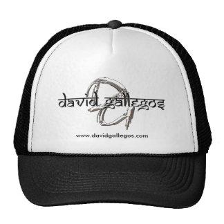 David Gallegos Logos Cap Trucker Hat