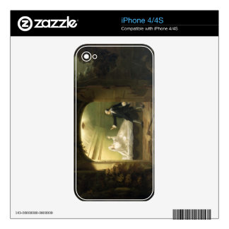 David Garrick  (1717-79) and George Anne Bellamy ( iPhone 4 Decal