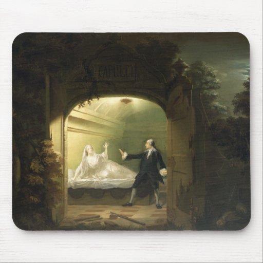 David Garrick  (1717-79) and George Anne Bellamy ( Mouse Pad