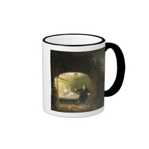 David Garrick  (1717-79) and George Anne Bellamy ( Ringer Coffee Mug