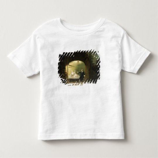 David Garrick  (1717-79) and George Anne Bellamy ( Toddler T-shirt