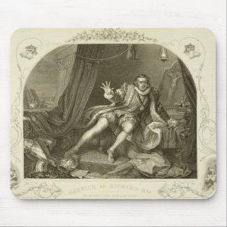 David Garrick (1717-79) as Richard III, Act V Scen Mouse Pad