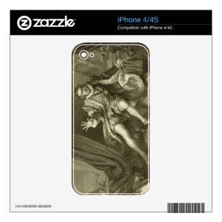 David Garrick (1717-79) as Richard III, Act V Scen Skins For iPhone 4S
