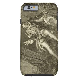 David Garrick (1717-79) como Richard III, acto V Funda De iPhone 6 Tough