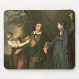 David Garrick  between the Muses of Tragedy Mouse Pad