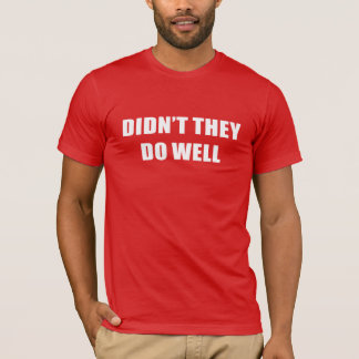 David Gilmour – Didn't They Do Well T-Shirt