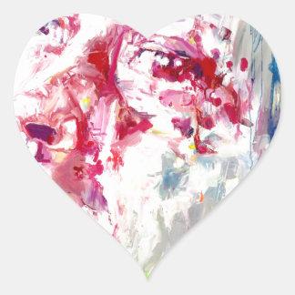 david heart sticker