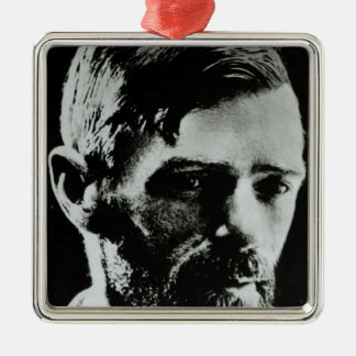 David Herbert Lawrence Metal Ornament