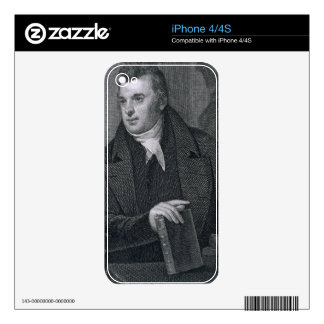 David Hosack, engraved by Asher Brown Durand (1796 Decal For The iPhone 4