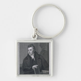 David Hosack engraved by Asher Brown Durand 1796 Keychain
