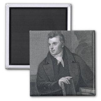 David Hosack engraved by Asher Brown Durand 1796 Fridge Magnets