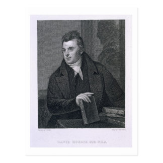 David Hosack, engraved by Asher Brown Durand (1796 Postcard
