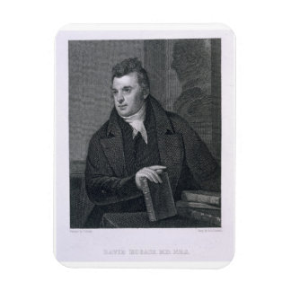 David Hosack engraved by Asher Brown Durand 1796 Rectangular Magnets
