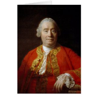 David Hume by Allan Ramsay (1766) Card