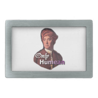 """David Hume """"Only Humean"""" Belt Buckle"""