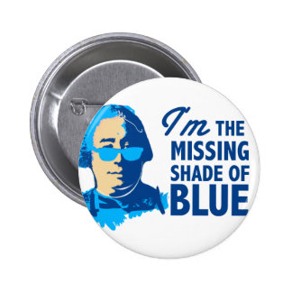 David Hume Shade of Blue Button