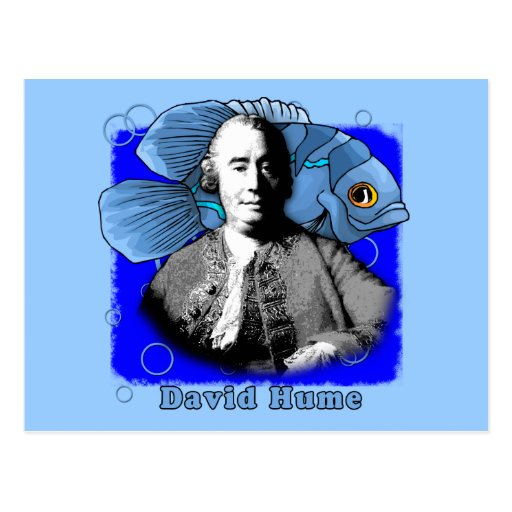 David Hume T shirts and Products Postcard