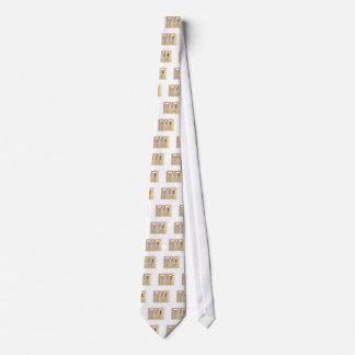 David in Hebrew Neck Tie