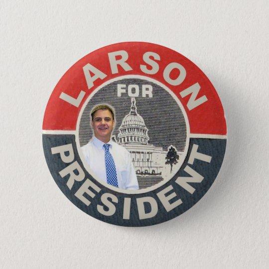 David Larson for President 2012 Button