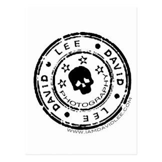 David Lee Logo Postcard