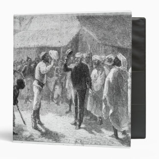 David Livingstone  from 'How I Found Livingstone' 3 Ring Binder