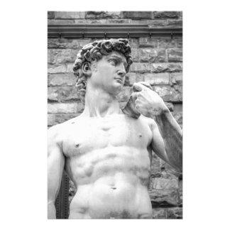 David (Michelangelo) Stationery