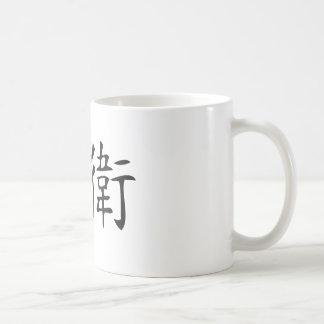 David Classic White Coffee Mug
