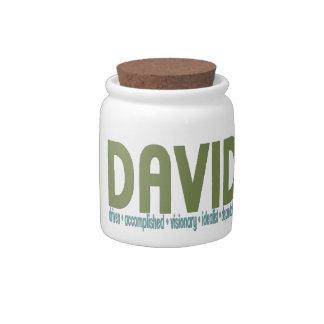{ David } Name Meaning Candy Jar