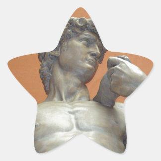 David Pegatina En Forma De Estrella