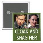 David Petraeus: Cloak and Shag Her Buttons