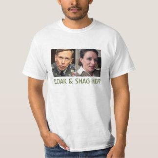 David Petraeus: Cloak and Shag Her T-Shirt