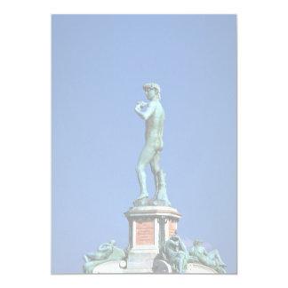 David, Piazza Michelangelo, Florence, Italy Custom Invitation