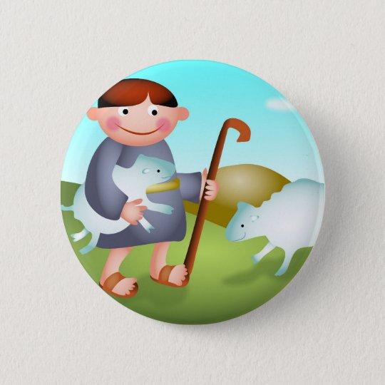 David Pinback Button